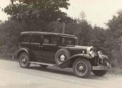 Cadillac, 1930 (collectie B. Otten)